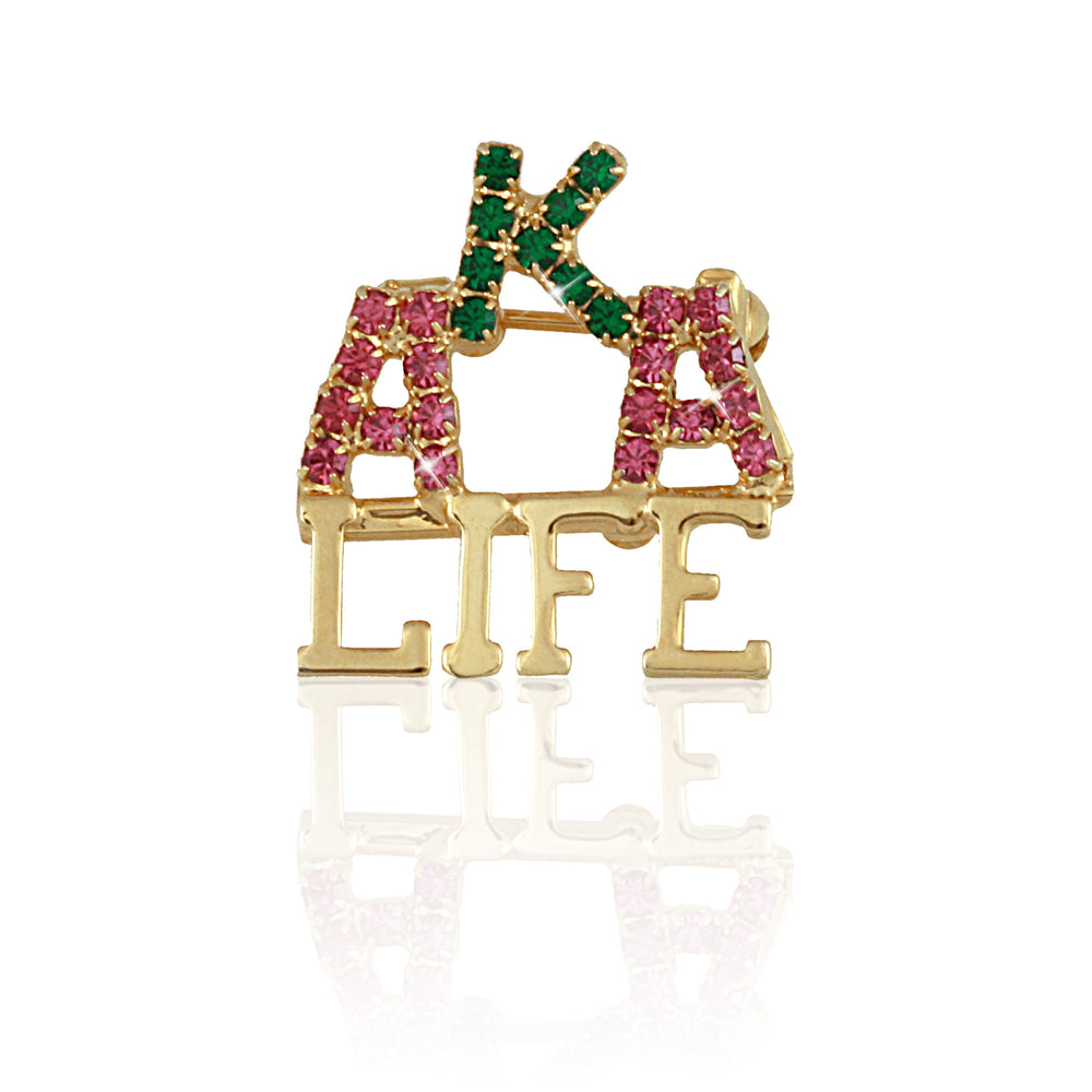 AKA Swarovski® LIFE Purity pin