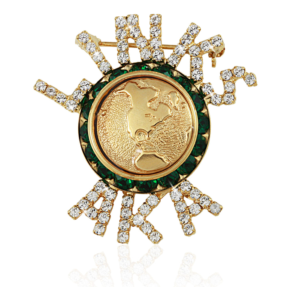 "Links Swarovski® + AKA ""Excellence"" Pin"
