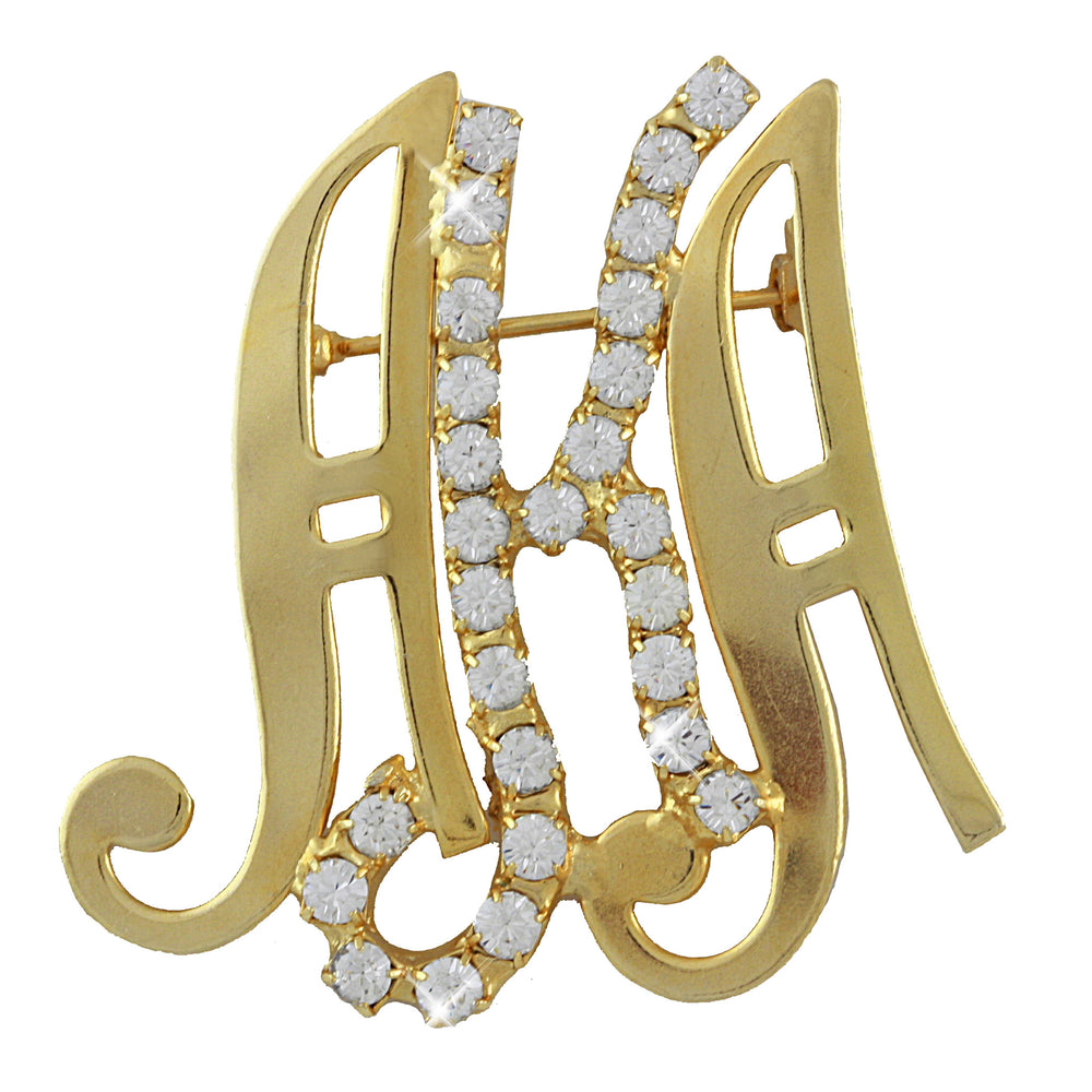 AKA Swarovski® Scripted Luxury Pin