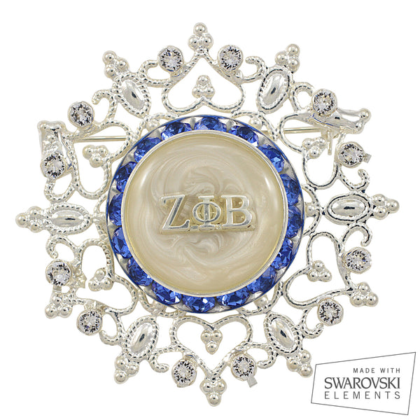 "Zeta Crystal ""Sparkling Nights"" Pin"