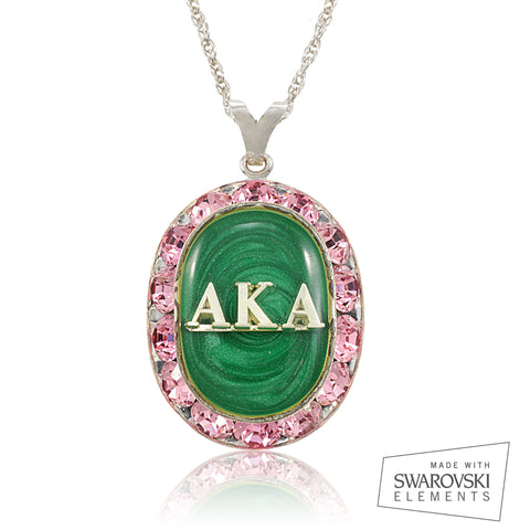 "AKA Swarovski® ""Extravagant""  Silver Necklace *Limited Edition*"