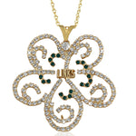 LINKS Swarovski® Ornate Necklace
