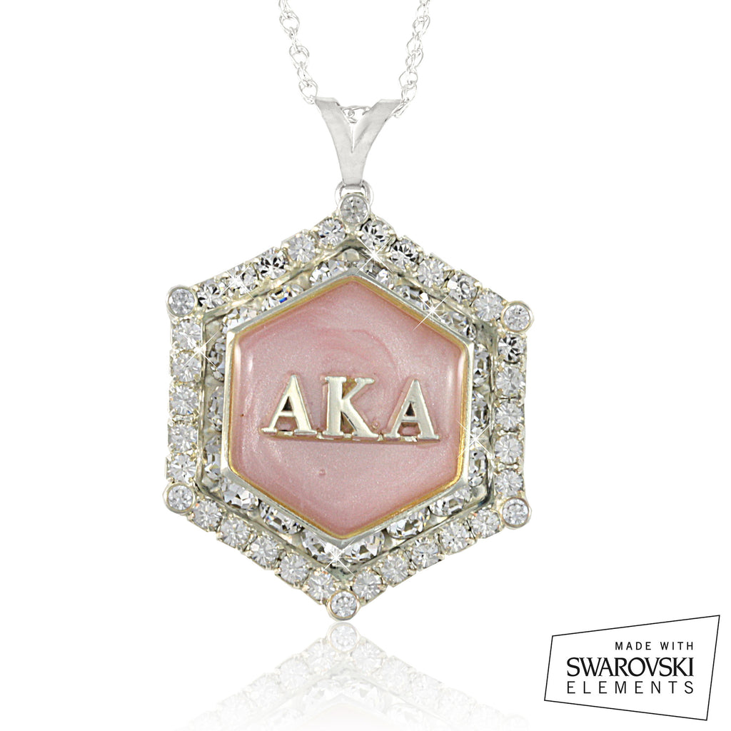 AKA Swarovski® Marbella 'Pink Rose' Necklace