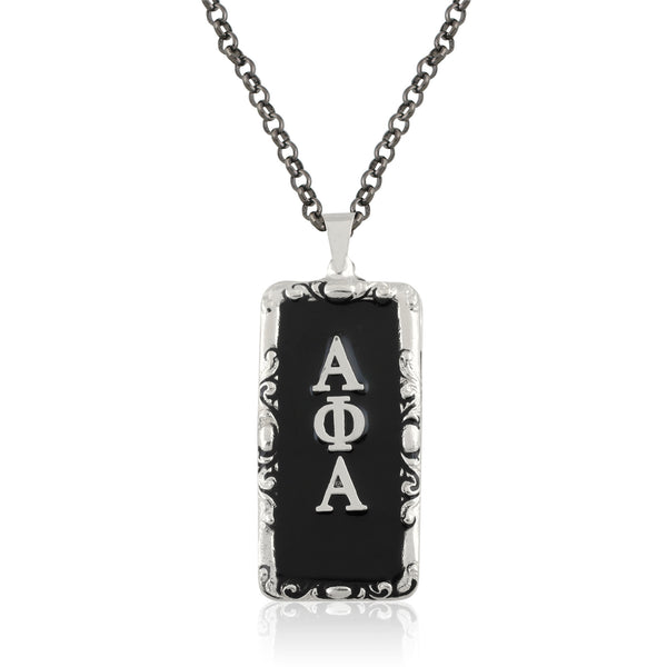 "Copy of Alpha Phi Alpha Swarovski® ""The Gentleman"" Medallion in Gold"