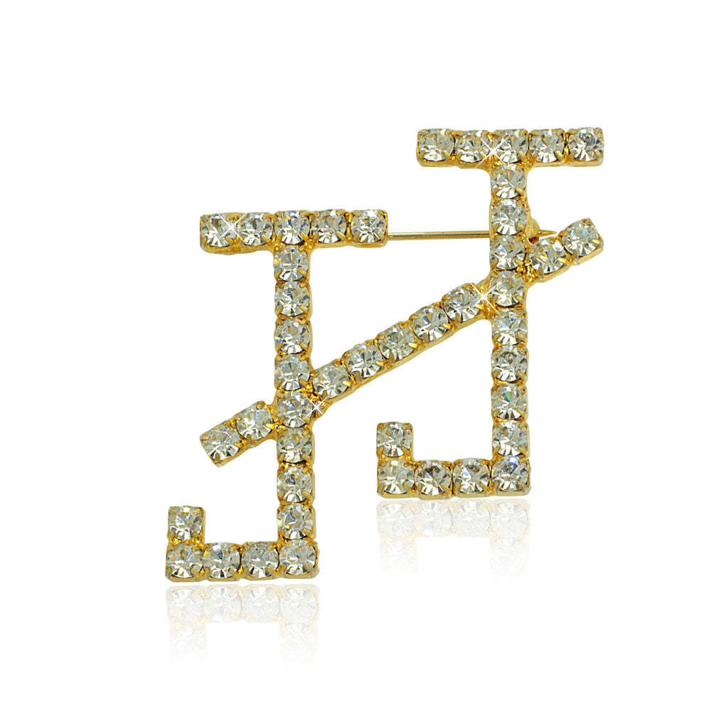 "Jack and Jill Swarovski® ""Supreme"" Crystal Pin"