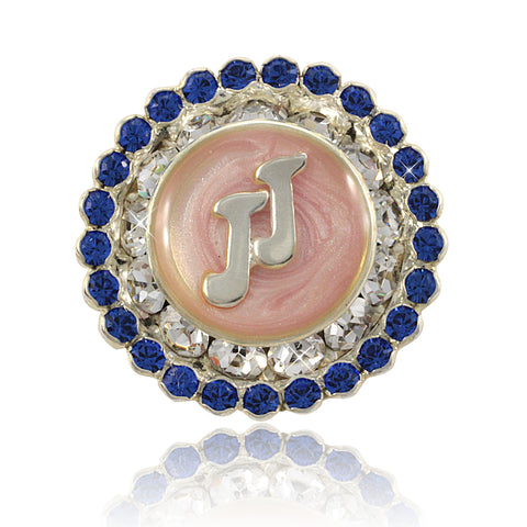 "Jack and Jill Swarovski® ""Perfection"" Crystal Pin"