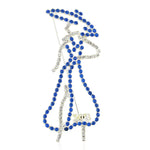 "Zeta Crystal ""Zeta Lady"" Pin"