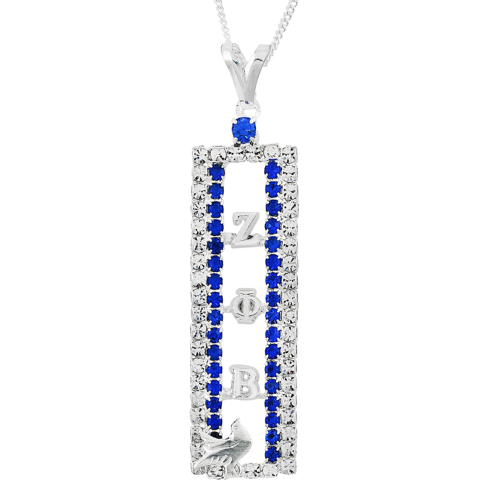 "Zeta Crystal ""Pristine"" Necklace"