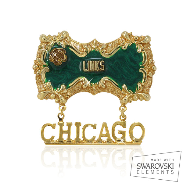 "Links, Inc. Swarovski® Custom Chapter ""Radiant"" Pin"
