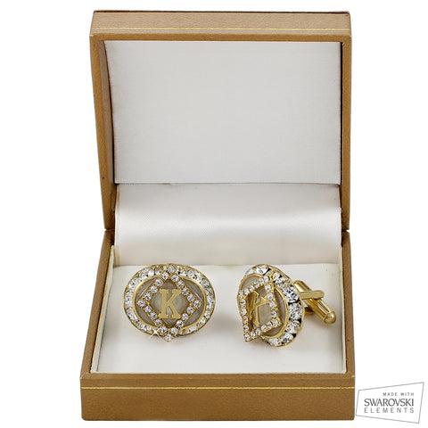 "Kappa Swarovski­®  ""White Grandeur"" Exclusive Cufflinks"