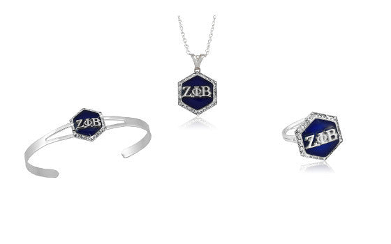 "Zeta Phi Beta Swarovski® ""Let it Shine"" Set"