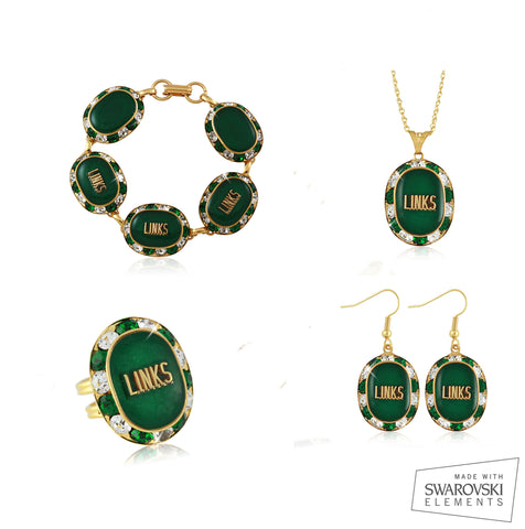 Links Emerald Renaissance Set