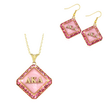 "Alpha Kappa Alpha Swarovski® ""Luxe"" Set in Gold *Limited Edition*"