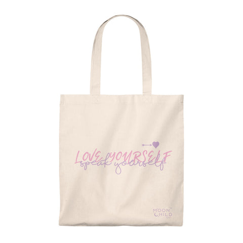 LOVE YOURSELF, speak yourself~ Tote Bag