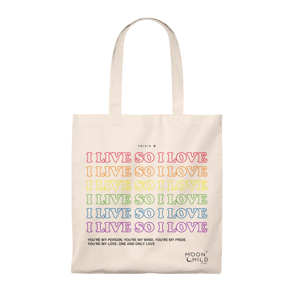 Answer : Trivia 承 Love Tote Bag