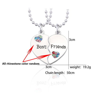 "jewelry charm ""best friend"" Necklace - GRemote"