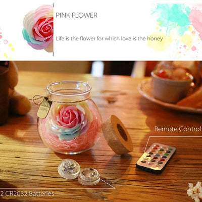 Rose Light Bottle - GRemote