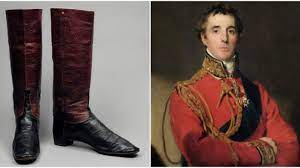 portrait of duke of wellington and his boots