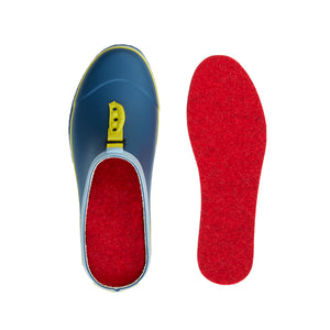clog with wool insoles