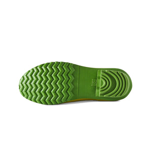 brightgreen gardening shoe bottom view