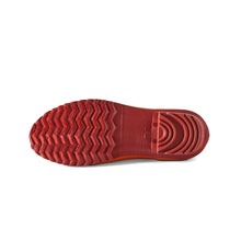 Load image into Gallery viewer, red gardening shoe bottom view