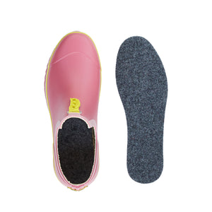 ankle welly with wool insoles
