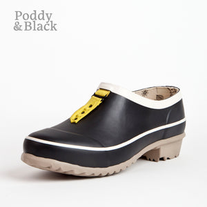 garden clog in black