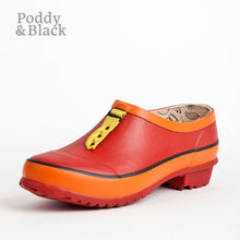 Load image into Gallery viewer, Garden clog in red