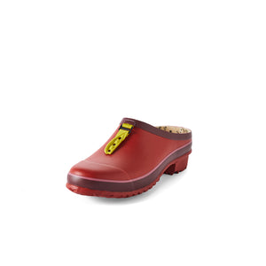gardenb clog in red