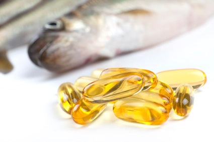 Fish omega oils for the skin