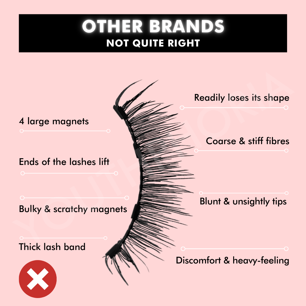 How to spot poor quality magnetic eyelashes