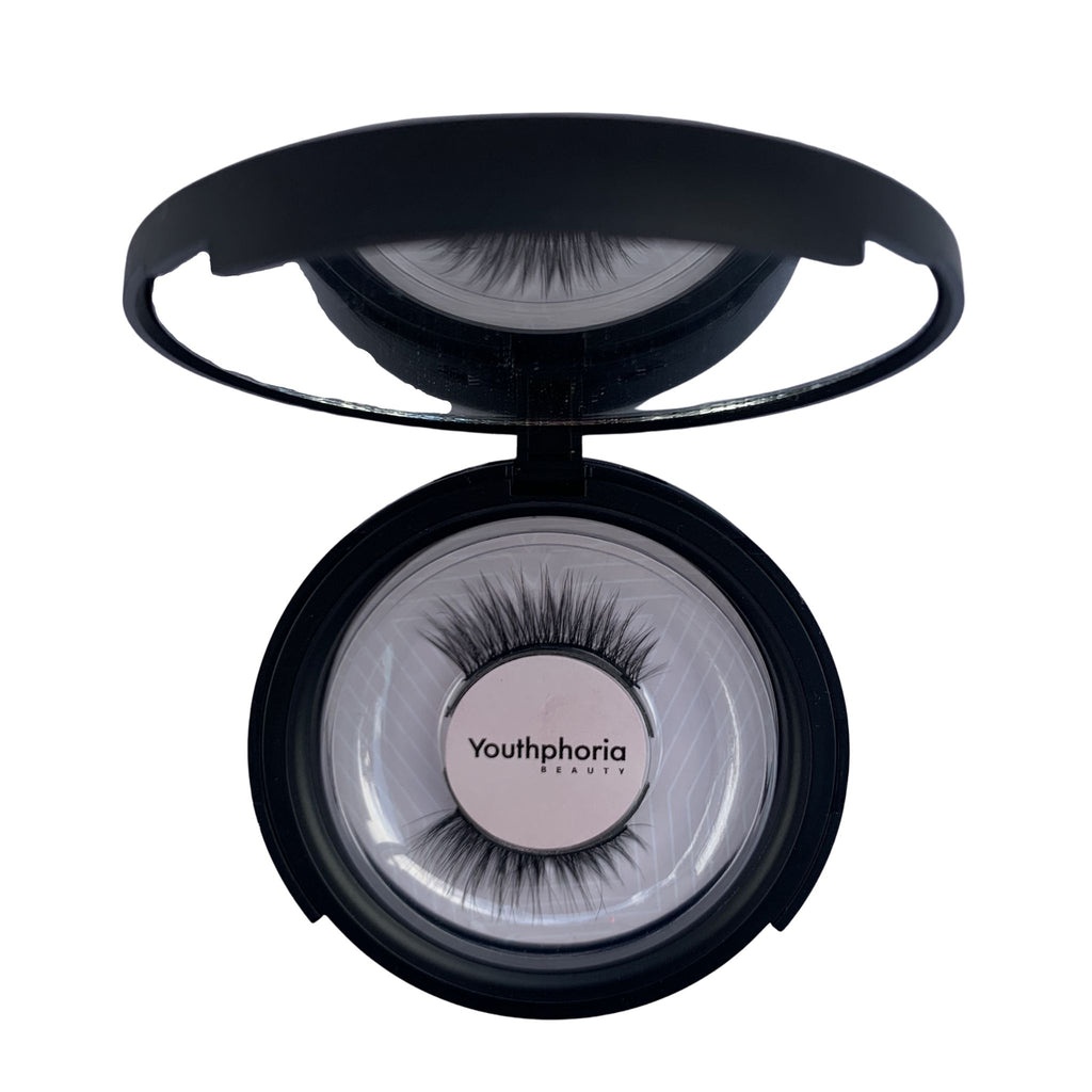 pixie magnetic eyelashes - accent eyelashes - short magnetic lashes - small eyes