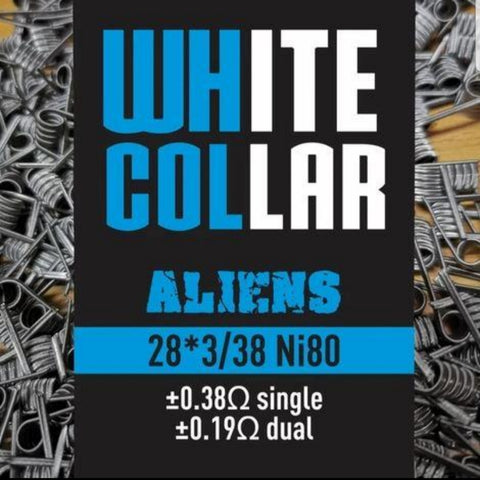 White Collar Coils - Aliens