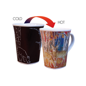 Ollee Bee Color Changing Story Mugs - Deer 1730 *Min. 3
