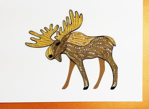 Iconic Quilling Cards 5 x 7 - 269 Moose