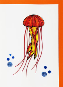 Iconic Quilling Cards 5 x 7 - 272 Jellyfish