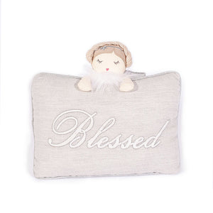 Mon Ami Blessed Angel Accent Pillow - 89233 Min. 2pcs