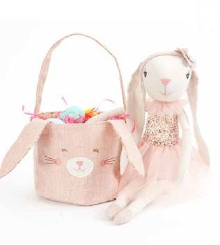 Mon Ami Bunny Easter Basket - 37431 Min. 4pc