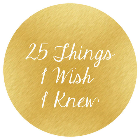 25 Things I Wish I Knew (When Starting My Photography Business)
