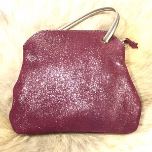 Glittery ZIPPER BAG