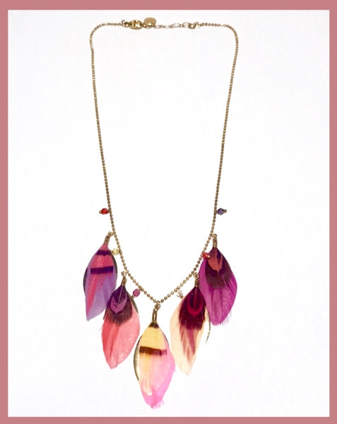 "Necklace ""Plume"""