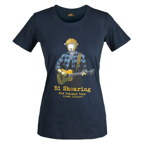 Ed Shearing Womens T/Shirt