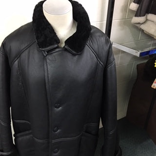 Leon Long Sheepskin Jacket