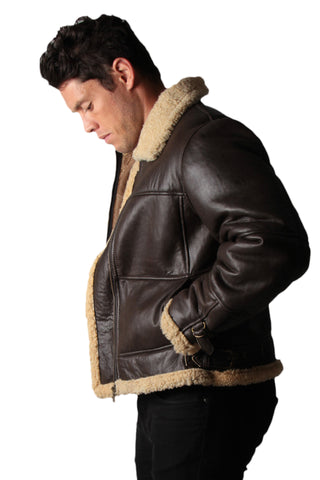 Aviator - Mens Sheepskin Jacket