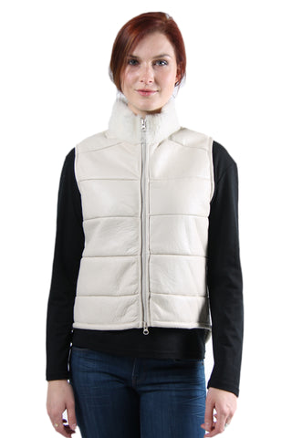 Joan - Womens Sheepskin Vest