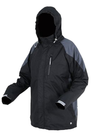 Mens Mallard Rain Jacket in Charcoal