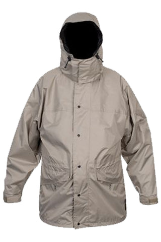 Mens Full Rain Jacket in Fawn