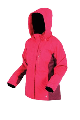 Rata Rain Jacket in Fuschia Pink