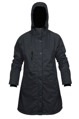 Tara Raincoat in Black