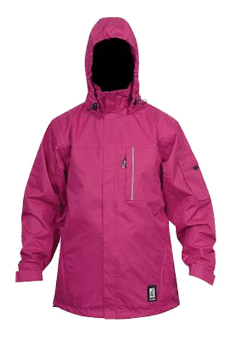 Womens Tui Jacket / Vest in Cerise